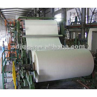Low Price Small Working Area a4 Paper Writing Paper and Copy Paper Making and Recycling Machine/Whole Production Line