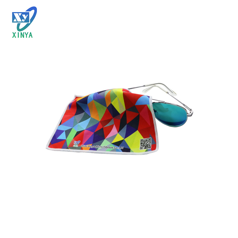 China factory supply microfiber glass cleaning cloth 40x40