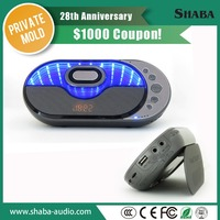 Out bluetooth handsfree speaker with heavy bass for car and motorcycle