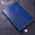 China Supplier A5 Metal Bookmark Recycled Paper PU Leather Cover Notebook
