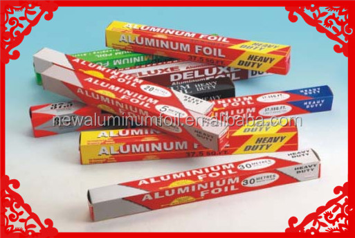 Roll Type chemical formula aluminum foil bulk aluminum household foil price