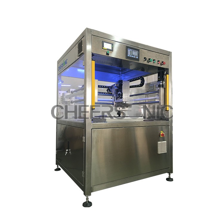 ultrasonic cake portioning machine ultrasonic cutting machine