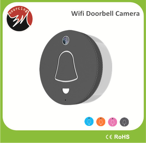 Smart Home Intercom System Wide-angle Doorbell Camera Wifi Wireless for Apartments