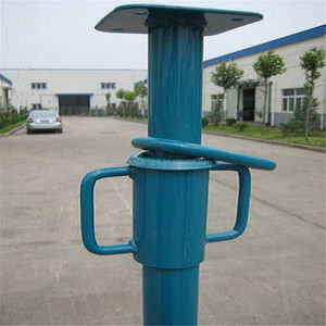 GCHK-008 Construction steel support /scaffolding adjustable steel prop for sale