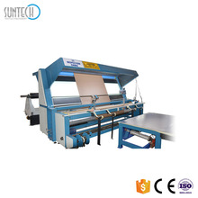 SUNTECH Fabric Inspection And Slitting Machine With Linear Fabric End Cutter