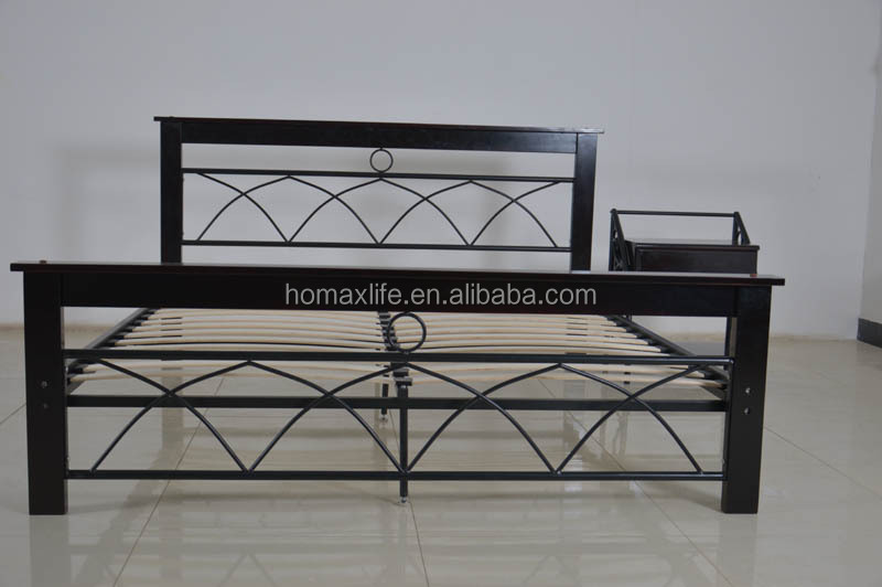 Russian design wood and metal bed double. Russian design wood and metal bed double  View russian wood leg