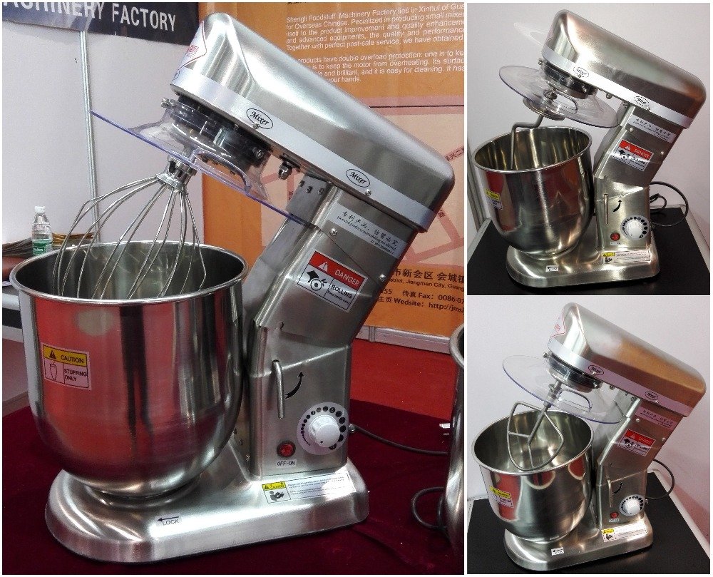 10L Stainless Steel Cake Blender/Electric Cream Blender Mixer Planetary