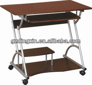 small computer table movable studying desk models(DX-8018)