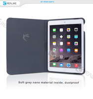 Book style flip cover case for ipad air 2