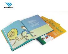 Unique custom English story book printing hard cover for children