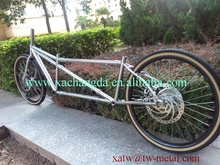 XACD made Ti mtb tandem bike frame titanium coupler tandem bicycle frame Ti road tandem bike frame customize