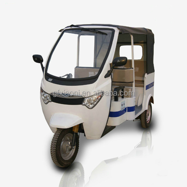 Bajaj style electrics passenger tricycle three-wheels 60V 850W FOR PASSENGER TUKTUK