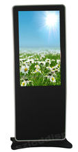 46 inch alone standing vertical LCD multimedia AD monitor with wifi network function