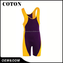 Sublimated russian wrestling singlets Customized