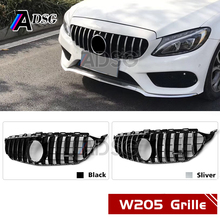 W205 Front GTR Grille for Mercedes C class Grill 2015-IN