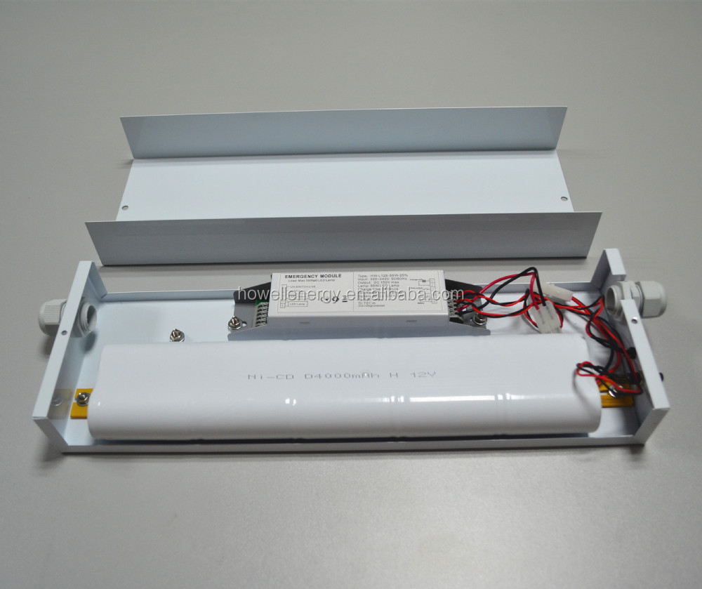 CE Rohs approved LED Emergency Lighting Module with 12V Battery Pack