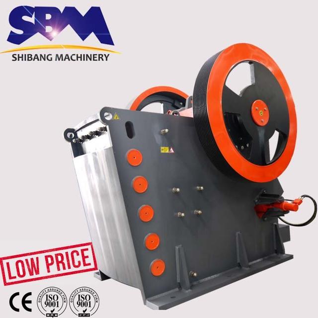 mica schist high crushing ratio jaw crusher machine