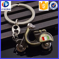 New Fashion Motorcycle Antique Bronze Plated Motorbike Key Ring