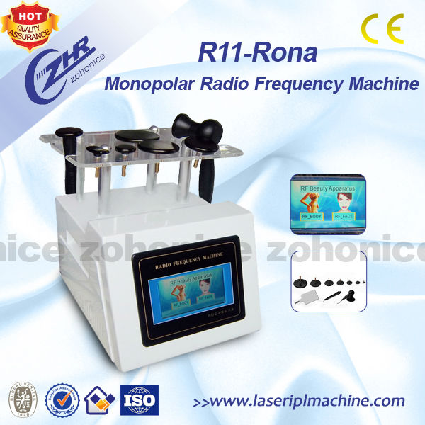 R11 Rona Portable Monopolar RF anti aging wrinkle machines