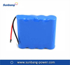 Shenzhen manufacture assembled High drain rechargeable battery pack 7.4v 3600mah for RC car