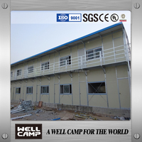 high class Galvanized steel structure prefab house modular house and prefabricated house