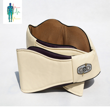 Electric Shiatsu Kneading Heating Neck And Shoulder Massager Belt With Vehicle Concept Design