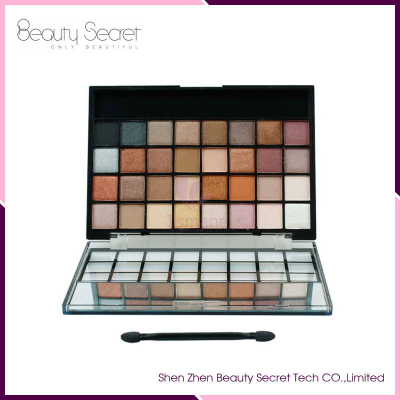 Factory cosmetics private label matte makeup eye shadow 32 color eye shadow eyeshadow palette