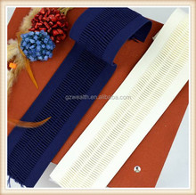 New design elastic band /elastic tape garment accessory for clothes decoration