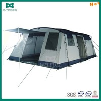 6 person blue camping mountain tent