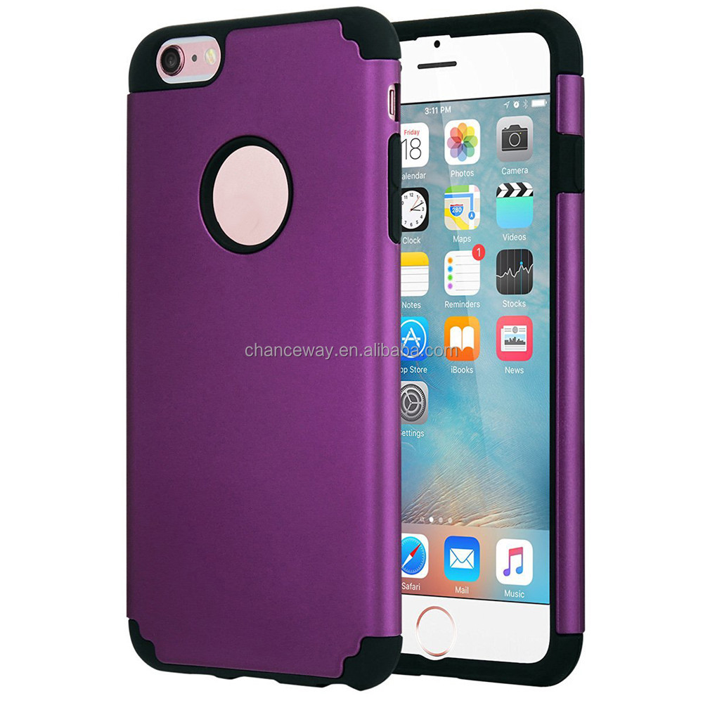 Slim mobile phone ARMOR case for iphone 6 plus and 6s plus