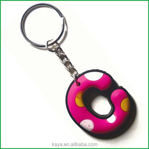 3D embossed soft PVC turbo keychain for premium gifts