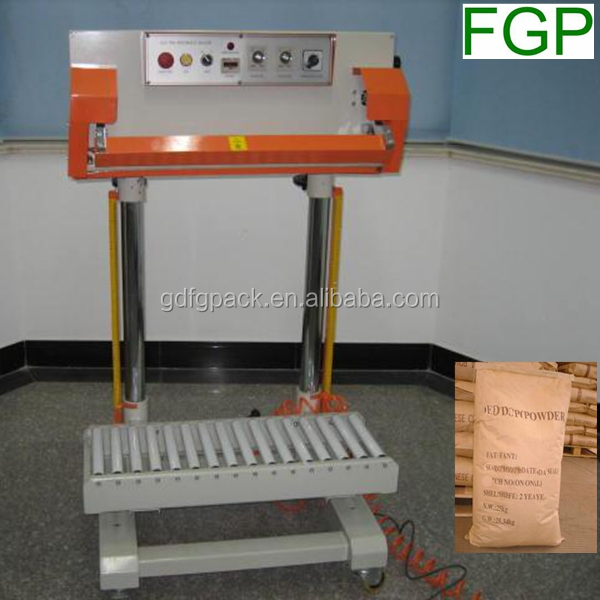 Ppneumatic continuous sealing machine/band sealer for big thickness plastic bag