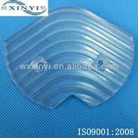 Organic glass CNC machining cover parts