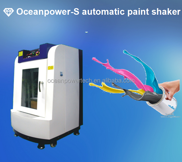 high speed 20L Paint color shaker, automatic paint colorant mixing machine with CE