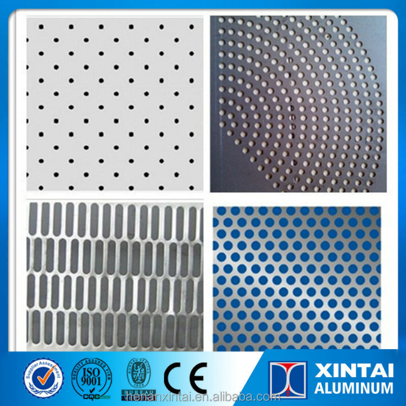 light weight high wearability aluminum perforated metal roofing sheet price