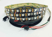 5050 SMD LED Lumen RGB LED Strip ws2812b Battery Powered Flexible LED Strip Light