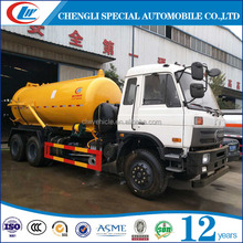 4x2 Vacuum Sewer Cleaning Tank Truck 5cbm Sewage Suction Truck