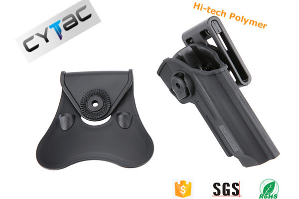 L police use tactical equipment sig sauer p226 polymer holster VS kydex holster