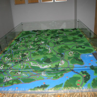 HO TT N Scale Train Layout