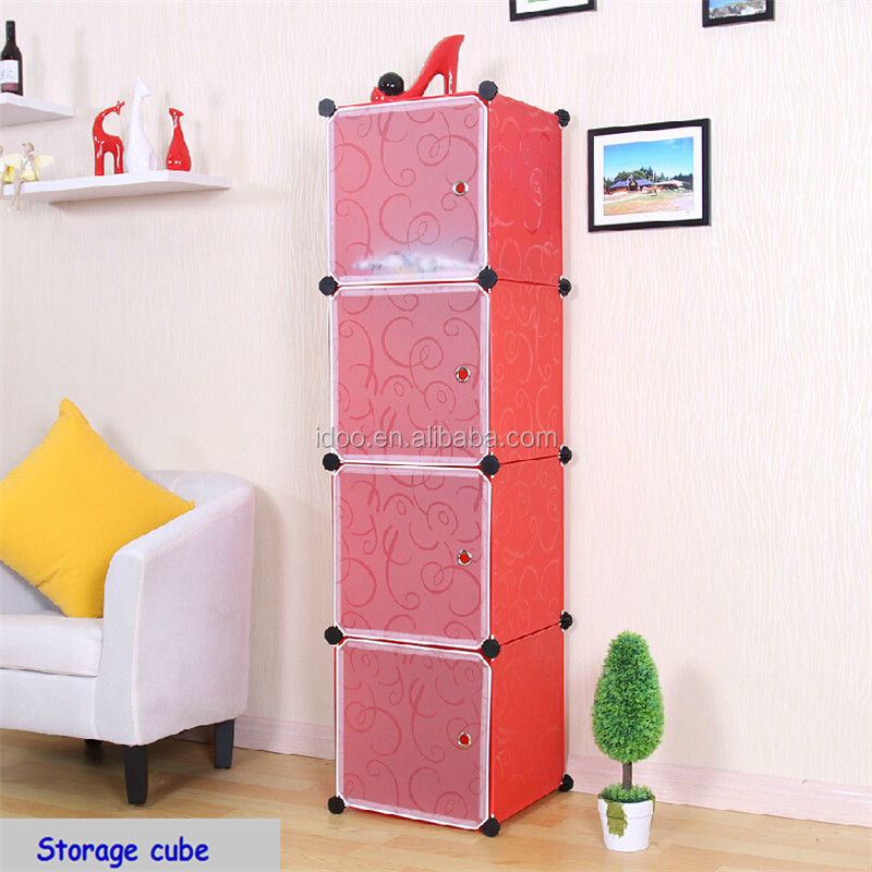Simple stylish diy plastic portable corners with room divided FH-AL0017-4