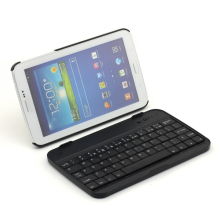 Wireless Bluetooth Aluminum Keyboard Case for Samsung Galaxy Tab 3 7.0 P3200 P3210