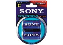 SONY STAMINA PLUS ALKALINE C SIZE BLISTER BATTERY
