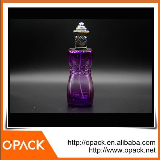 Plastic perfume bottle spray for wholesales