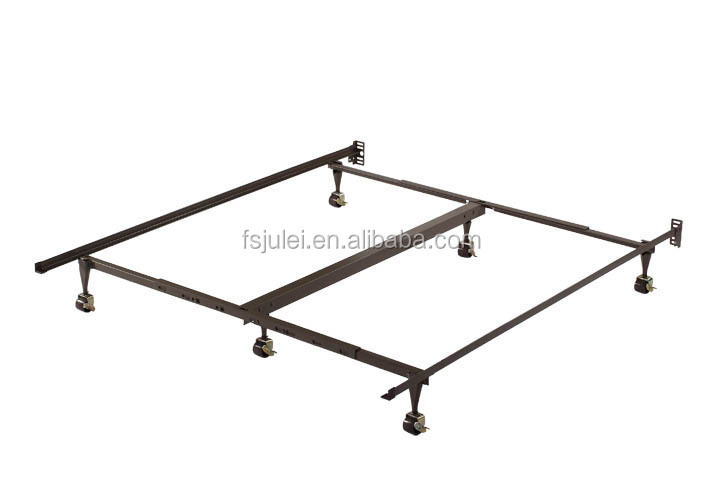 good quality bed frame component plastic trumpet bed leg / replacement bed leg