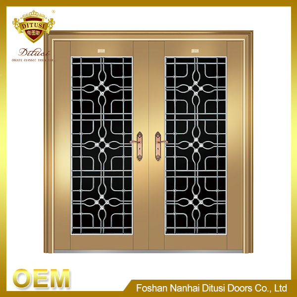 Extravagant safety door design with grill HL-9130