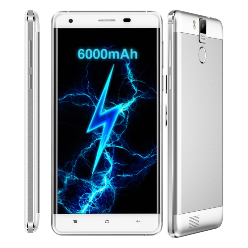 Coupon Code SALES90 ,OUKITEL K6000 Pro Smartphone 32GB,6000mAh, 5.5 inch Android 6.0 MTK6753 Octa Core 1.3GHZ, RAM: 3GB, Network