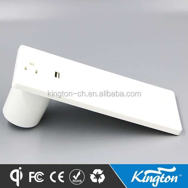 Hight quality Simply Qi standar wireless charger for table desk in office mobile phone ,computer