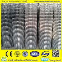 1/2 inch welded wire mesh galvanized wire mesh