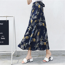 High Waist Floral Print Summer <strong>Skirts</strong> Womens Boho Asymmetrical Chiffon <strong>Skirt</strong> Maxi Long <strong>Skirts</strong> For Women