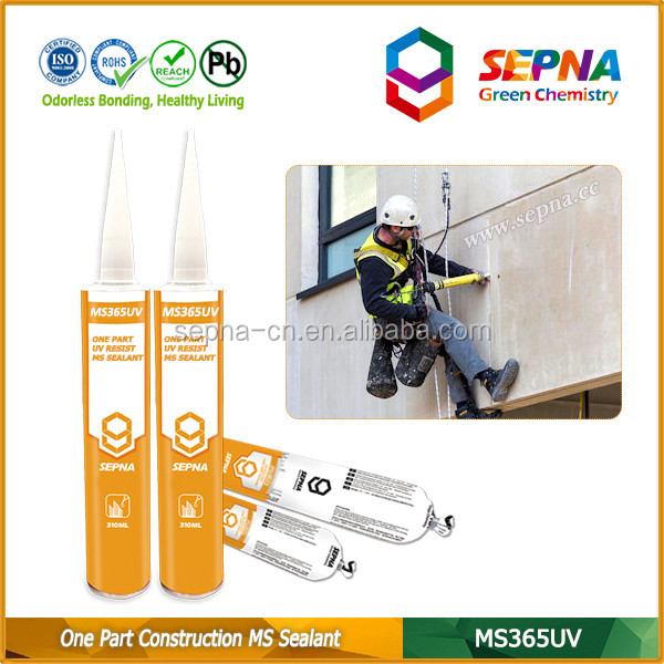 Polymer Adhesive Construction Chemicals MS Sealant